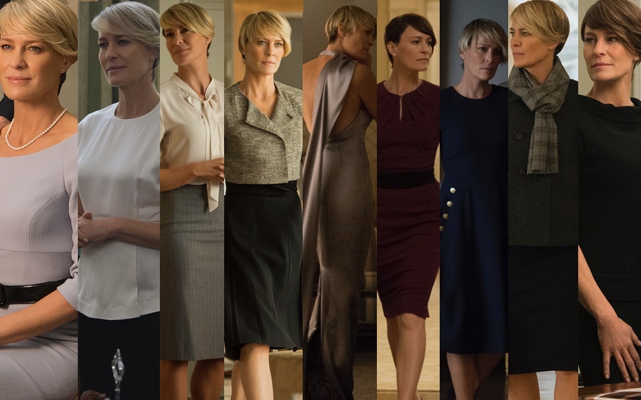 Claire Underwood Style Season 2 O poderoso look...
